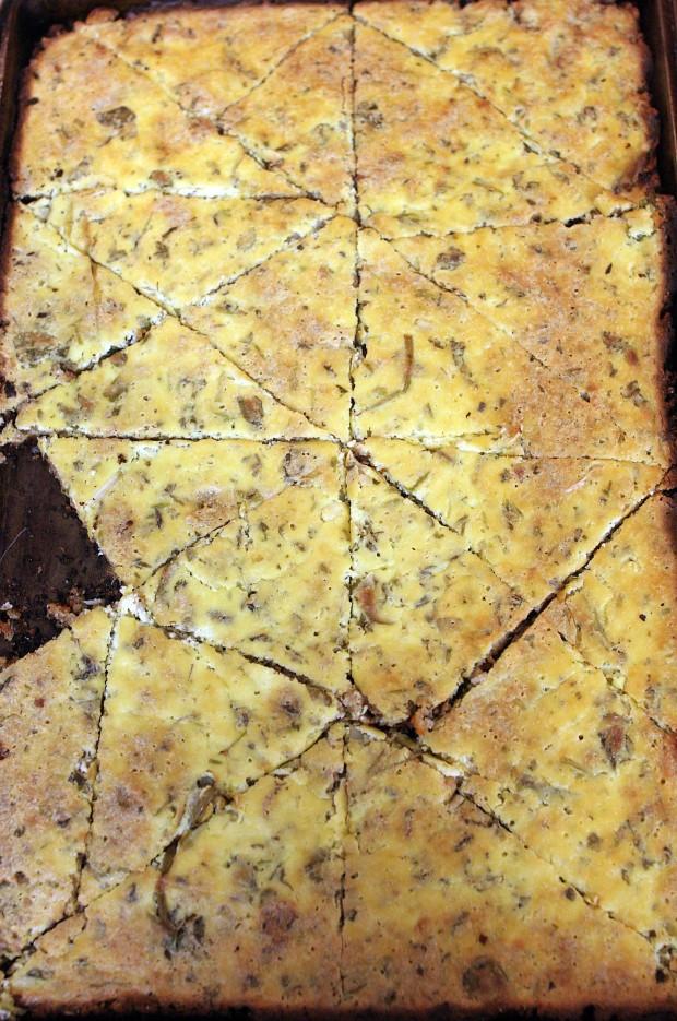 herbed ricotta tart