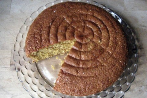 Whole Wheat Sponge Cake