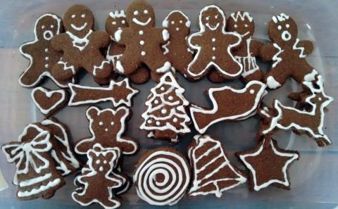 gingerbread cookies2014